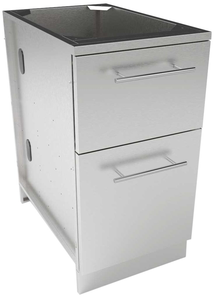 SUNSTONE SBC18WICPD Designer Series Storage Cabinets, 18'' by SUNSTONE