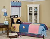 Pam Grace Creations Full/Queen Bedding Gift Set, Let's Play Ball