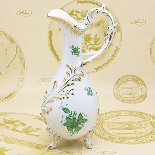 ヘレンド(Herend) ジャグ(6431) 水差し VASE アポニーグリーン(AV) 花瓶 ハンドメイド 飾り物 置物 [並行輸入品] B01JROLMWO