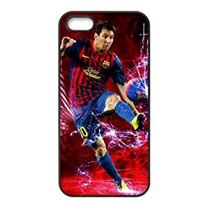iphone5 5s Black Lionel Messi phone cases&Holiday Gift