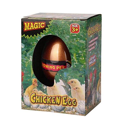 Molyveva Easter Egg Novelty Magic Hatching Dinosaur Eggs Gro