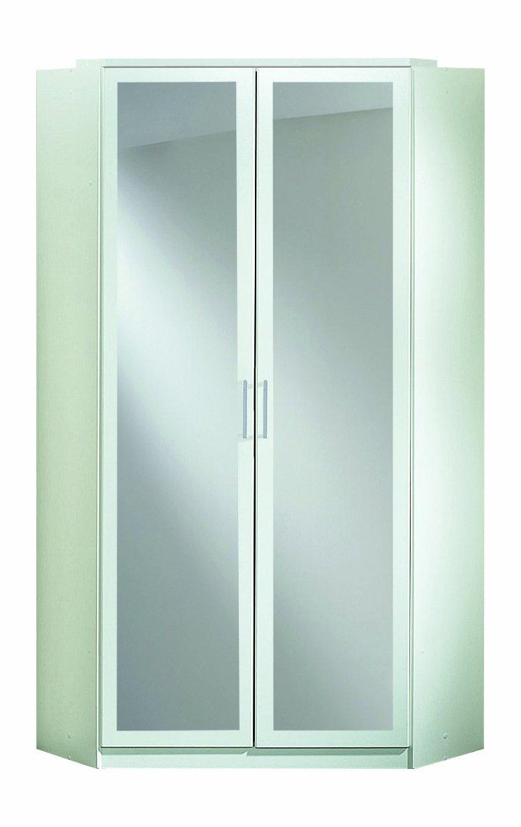 Wimex Kleiderschrank/ Eckschrank Click, 2 Türen, 1 Spiegel, (B/H/T ...