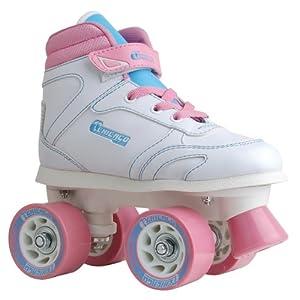 Chicago Girls Sidewalk Roller Skate -White Size 1