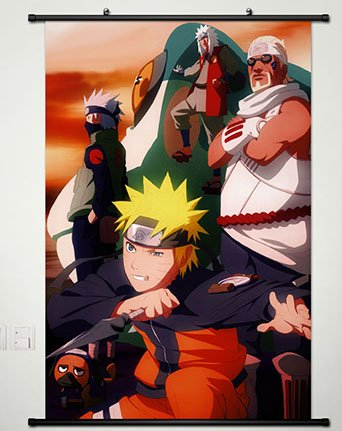 Naruto Wall Scroll Poster Fabric Painting For Anime Killer B