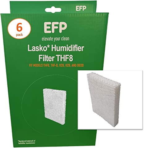 Amazon Com Efp Humidifier Filters For Lasko Natural Cascade Thf8 Thf 8 1128 1129 9930 Model Humidifiers Replacement Wicking Filters Includes 6 Aftermarket Filters Home Kitchen
