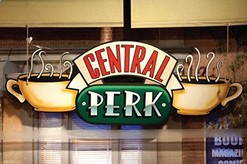 Friends - Central Perk Window Poster Print