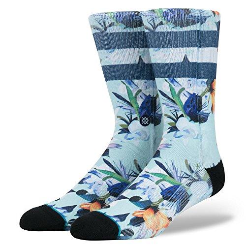 Stance Men's Wipeout Socks,Large,Blue