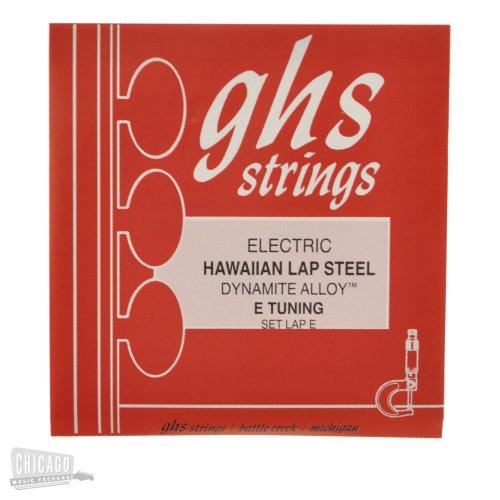 GHS Lap-E Nickel Plated Steel Electric Hawaiian Lap Steel E Tuning Strings (Best Lap Steel Tuning)