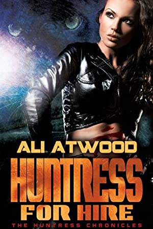 book cover of Huntress for Hire