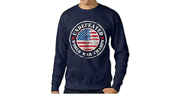 LLiYing-D Boxing Happy Christmas Adult Mens Fashion Long Sleeve Sweater T-Shirts