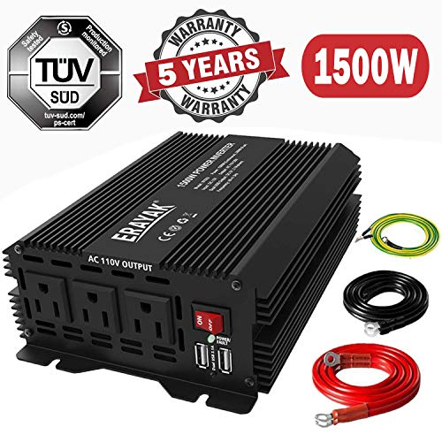 Power Inverter 150W 200W 800W 1000W 1500W DC to AC Converter 12V to 110V Inverters for Car