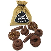 Island Dogs Giant Sack Of Shit Fake Poop That Looks Real Gag Gifts For Men Funny Crap Dog Turd Pranks 8 Pc