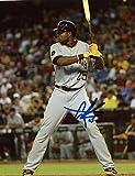 Gregory Polanco Autographed Photo - At Bat 8x10 W coa - Autographed MLB Photos