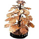 Ancient Graffiti Solid Copper Oak Leaf Dripper Fountain