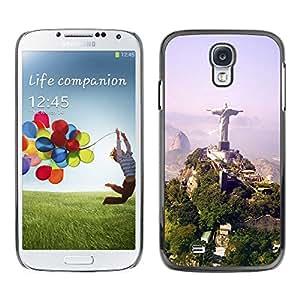 Exotic-Star ( Architecture Brazil Jesus Statue ) Fundas Cover Cubre Hard Case Cover para Samsung Galaxy S4 IV (I9500 / I9505 / I9505G) / SGH-i337