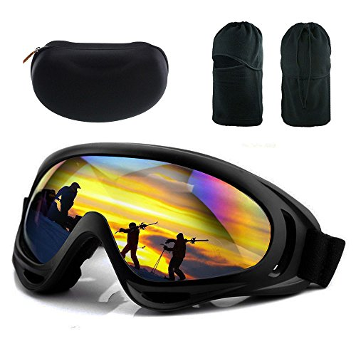 LEIDONYUAN Mask & Colorful UV400 Ski Goggles for Riding Motorcycle Bikes Skiing atv - Best Riding Glasses