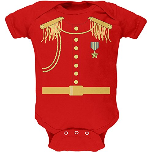 Prince Charming Costume Red Soft Baby One Piece - 9-12 months (Prince Charming Costume For Kids)