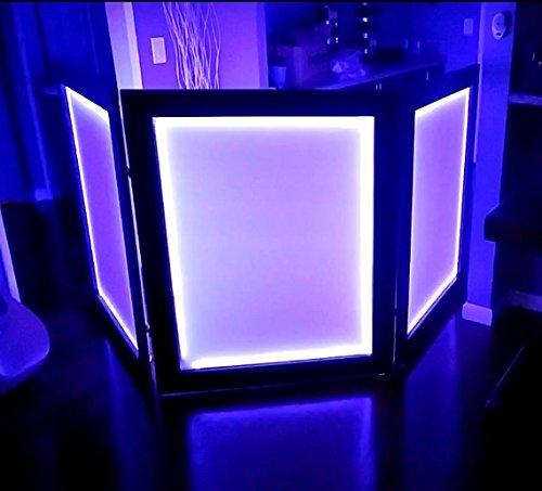 DJ Facade DJ Booth/Led DJ Facade Sound Activated
