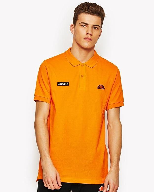 Ellesse SHW04475 Polo de Tenis, Hombre, Naranja (orangepop), S ...