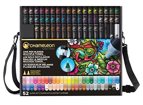 Chameleon Art Products, Chameleon 52-Pen Complete Set by Chameleon Art Products
