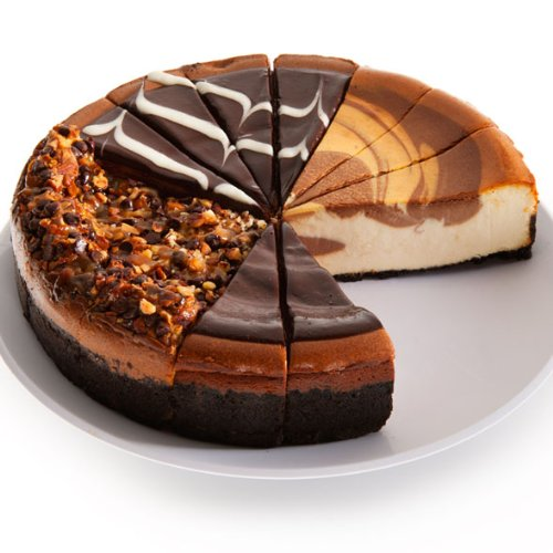 - Chocolate Lovers Cheesecake Sampler - 9 Inch