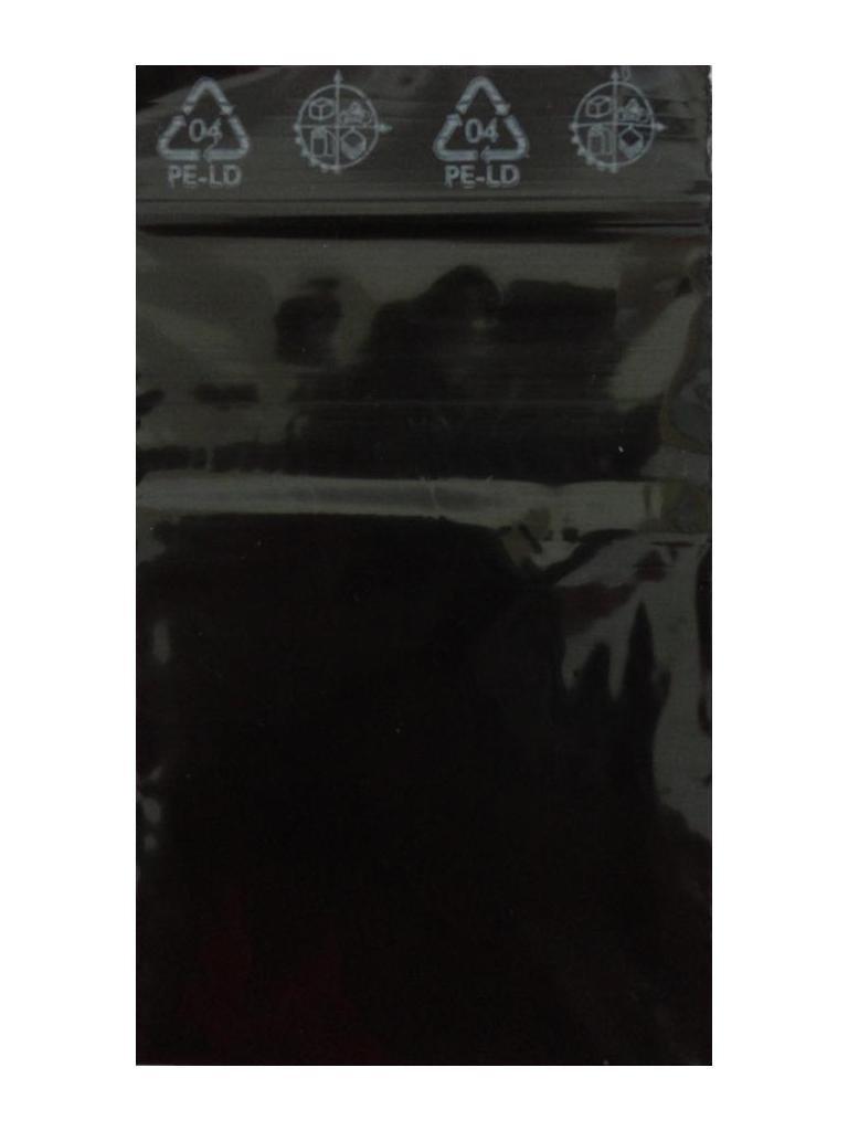 100 Druckverschlussbeutel 40 X 60 schwarz