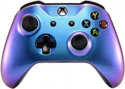 Xbox One Wireless Controller for Microsoft Xbox One - Custom Soft Touch  Feel - Custom Xbox One Controller (Chameleon)