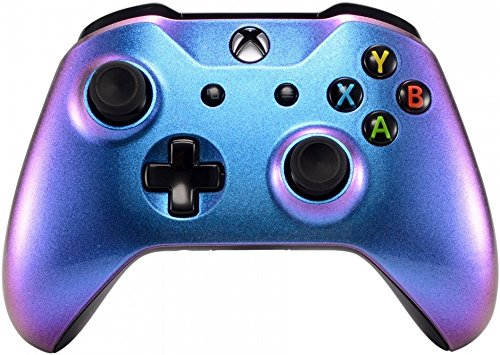 extremerate purple and blue chameleon front housing shell faceplate