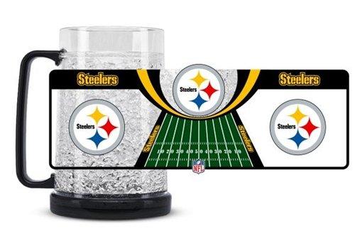 (Pittsburgh Steelers Crystal Freezer Mug)