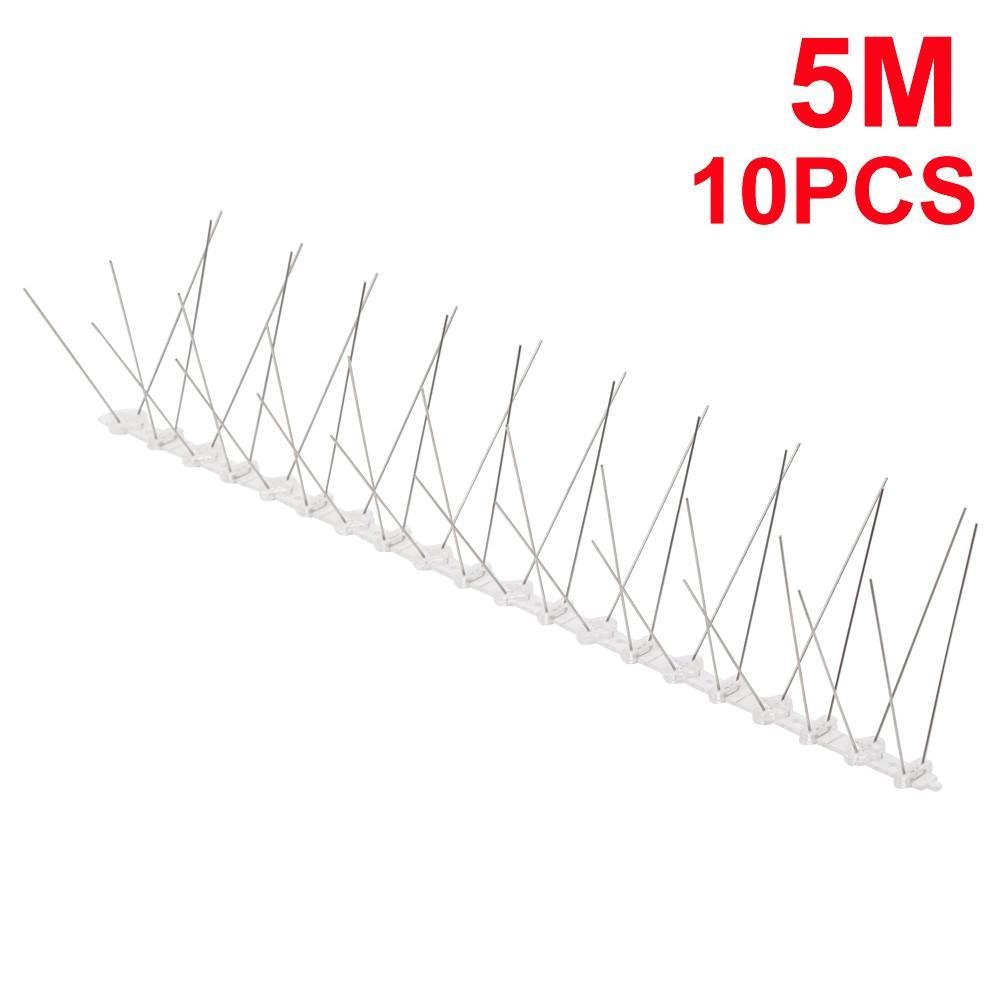 tinkertonk 5M Bird & Pigeon Spikes Anti Climb Security Wall Fence ...
