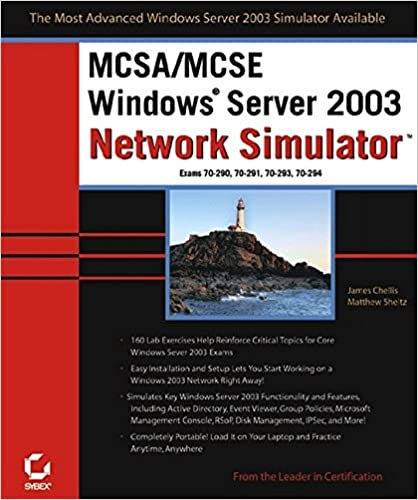 MCSA/MCSE: Windows Server 2003 Network Simulator (70-290, 70-291, 70