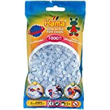 Hama - 207-57 - Loisirs Créatifs  - Perles et Bijoux  - Sachet 1000 Perles Phosphorescent Bleu