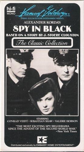 Spy in Black [VHS] - Malls Irving In