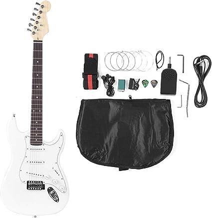 Set de guitarra eléctrico, 39 pulgadas Guitarra eléctrica negra ...