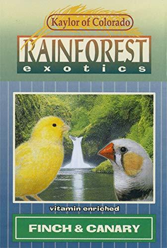 Rainforest Exotics Canary & Finch Bird Food 4 lbs