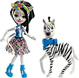 Enchantimals Zelena Zebra Doll & Hoofette