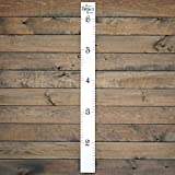 Growth Chart Art | Wooden Growth Chart Ruler for
