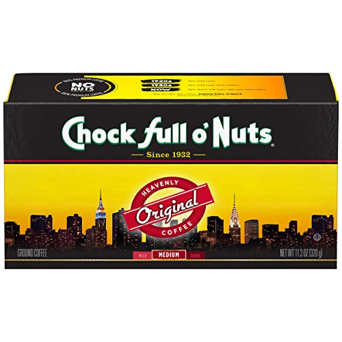 - Chock Full o'Nuts Coffee, Original Blend Brick, 11.3 Ounce