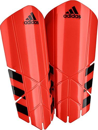 adidas Ghost Lesto Shin Guard, Bright Red, Large