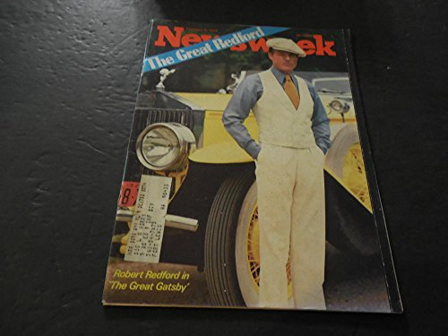 Newsweek Feb 4 1974, Robert Redford The Great - Robert Redford Glasses