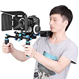 Neewer Movie Kit Film Rig for DSLR Camera Such as Canon 5D mark II,III/700D 650D 600D;Nikon D7200 D7100 D7000 D5200 include:1Shoulder Rig+1Matte Box+1Follow Focus(Fits Lens Diameter:65-103mm)