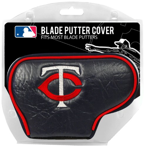 Team Golf MLB Minnesota Twins Golf Club Blade Putter Headcover, Fits Most Blade Putters, Scotty Cameron, Taylormade, Odyssey, Titleist, Ping, - Twins Minnesota Stick Big
