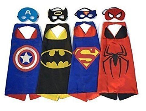 CLian CRO Superhero Dress Up Costumes for Kids (Super Hero Dress Up)