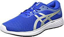 Asics Patriot 11, Road Running Shoe para Hombre - Tuna Blue/Pure Silver - 42 EU