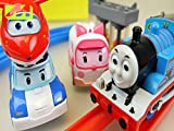 Clip: Train and Robocar Poli Super Wings Toys