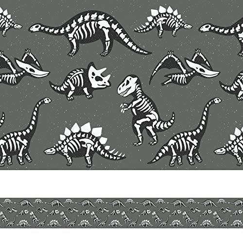 Faixa Adesiva para Quarto de Meninos Dinossauro 6mx15cm