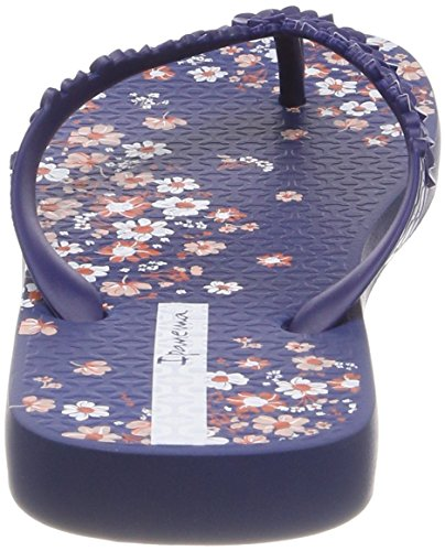 Ipanema Fashion Floral Fem, Chanclas Para Mujer Multicolor (Blue)