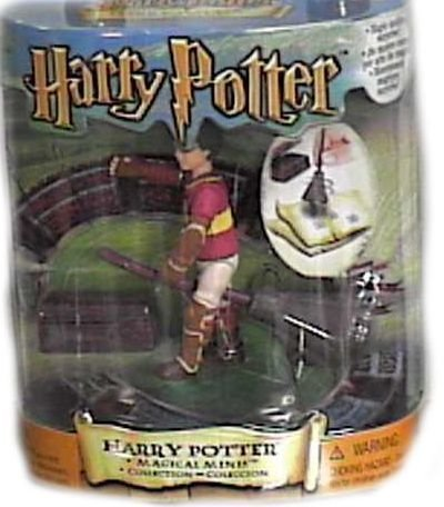 Harry Potter Magical Minis Harry Potter Figure with Broom]()