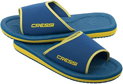 S Plage Lipari De Sub jaune Piscine Mixte Cressi Enfant Bleu Chaussures Taille Jr 32 p Et a Sx85w1q5