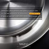 Immokaz Matte Polished 6.7 inch 304 Stainless Steel